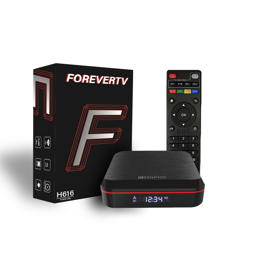 Forever IPTV Service with tv box